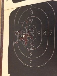After 2 weeks 30-10 pistol training program Kelly Alwood
