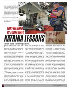 Kelly Alwood Tactics and Preparedness magazine article